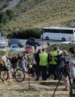 Merida believe in maximising media exposure for the team and their bikes