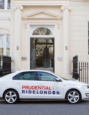 ŠKODA UK is providing 30 cars for the Prudential Ride London