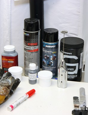 Friction Facts founder Jason Smith has experiemented with lots of different chain lubricants - both homemade and off-the-shelf