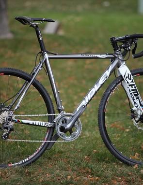 Does this bike look stock? Look again. Hint: peek under the stem