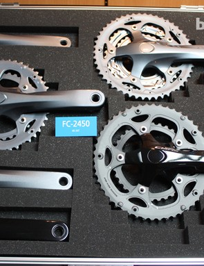 Shimano Claris chainset options