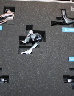 Shimano Claris components