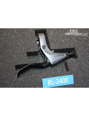 The Claris brake lever is compatible with all types of Shimano mechanical brakes