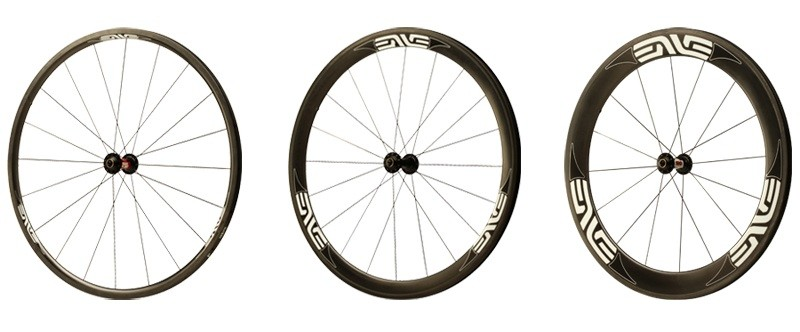 ENVE Classic rims come in 25mm, 45mm and 65mm depths