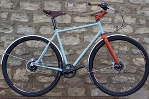 A Libertine city bike by Bespoked Bristol organiser Phil Taylor