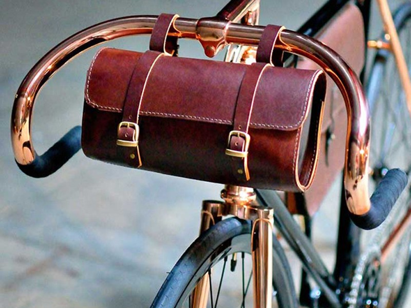 Detroit Cargo's $84 Jefferson Handlebar Bag