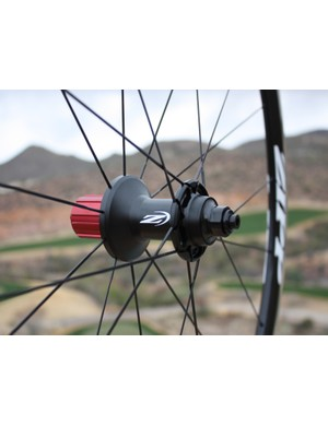 The new Zipp 30 aluminum hub features stainless steel bearings and no adjustment