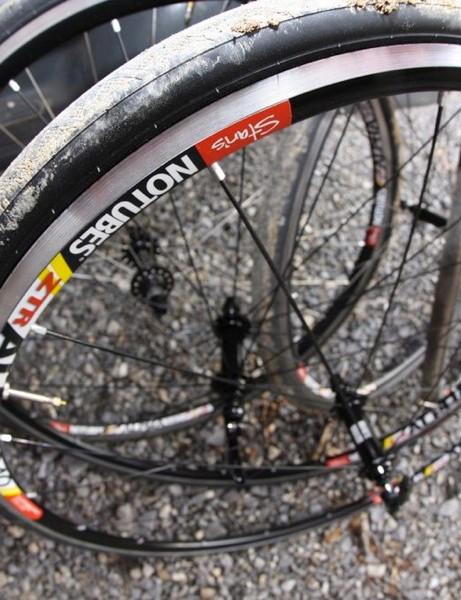 Stan's NoTubes tubeless road wheels