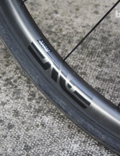 Our test build came with ENVE hoops