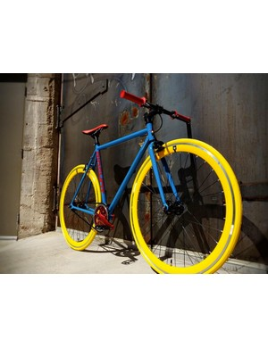 Yellow tires? Why not