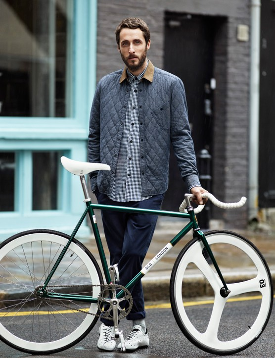 Friends of Brick Lane Bikes and staff helped design the collection
