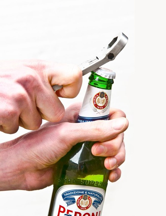 Bottle opener is also included