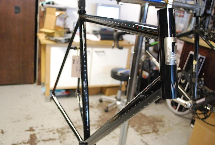 Owner Josh Klauck is lusting after a Pegoretti of his own