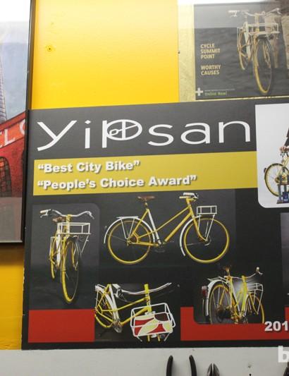 YiPsan's Sunflower city bike won