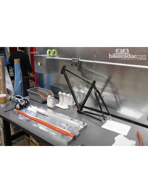 Lay-up of each individual carbon fiber tube can be custom specified per order
