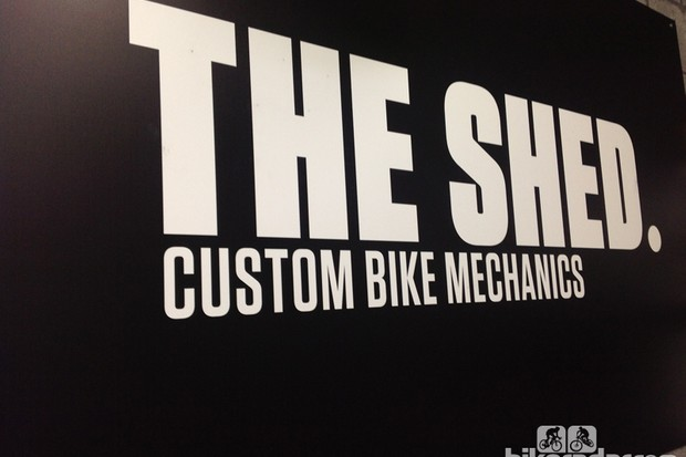 The Shed is based in Hereford, UK. It stands out from your typical bike shop and is very much made in the mould of its owner, John Wood