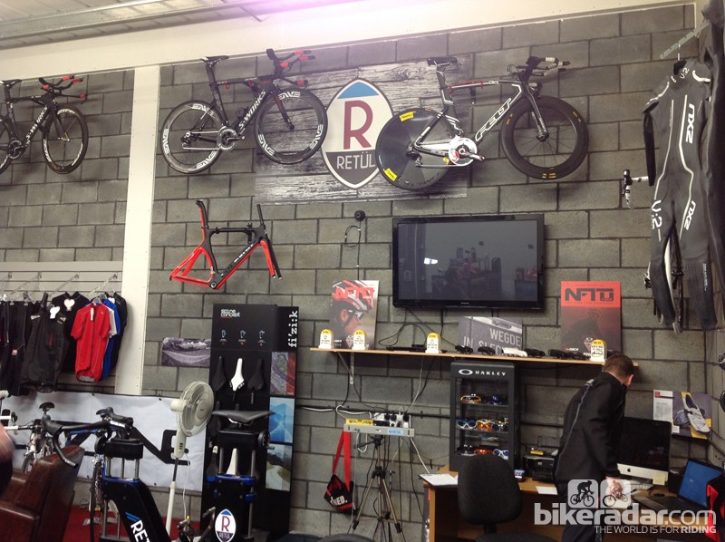 The Shed isn't your typical, cluttered bike shop. The general rule seems to be that if there's no space to bolt it to the wall, there's no space for it