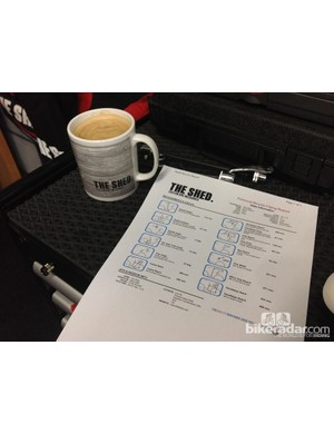 A printout gives you a wealth of information about your riding position