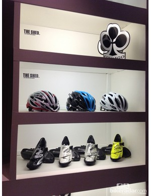 Kask, Bont and Colnago are just some of the high-end brands favoured by Wood