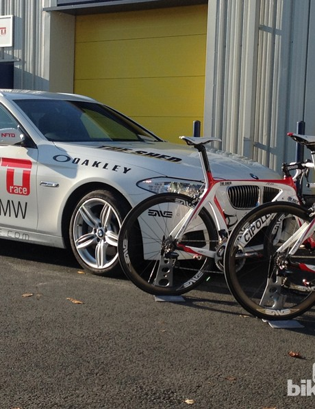 The NFTO team car