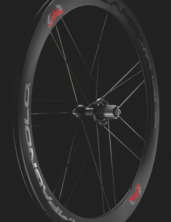 Campagnolo 80th Anniversary Collection carbon wheelset weighs 1,310g
