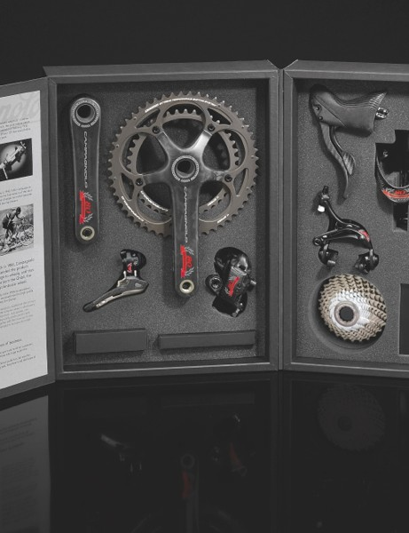 Campagnolo 80th Anniversary Collection in the special case