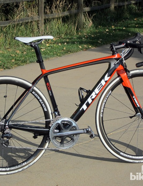 Trek's latest Madone is a radical design departure from previous editions. Rather than market a 'light and stiff' bike and an aero bike as separate lines, Trek decided to combine the two into the new Madone