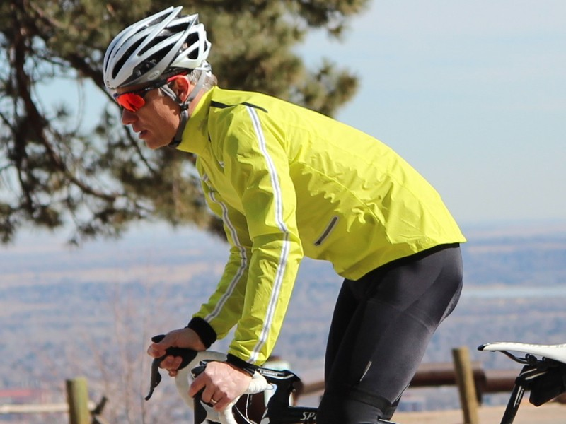 Rapha Classic Wind Jacket, in this chartreuse and in orange for 2013