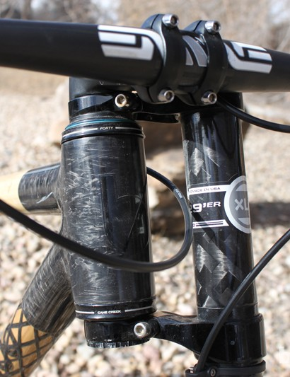 Frey is a proponent of Cannondale's Lefty forks