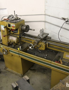 A dirty lathe is a well-used lathe