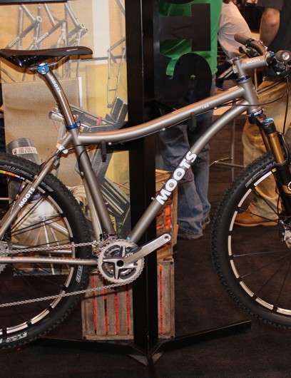 Moots has sold a handful of custom YBB frames in a 650b configuration