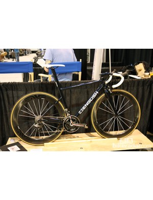 This aero road bike was the only carryover from Rob English's 2012 NAHBS booth