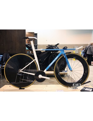 Rob English had been racing on his previous time trial bike for about five years so he figured it was about time to build himself a new one
