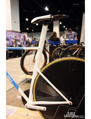 The aero-profile tubing was sourced from an actual aircraft supply company