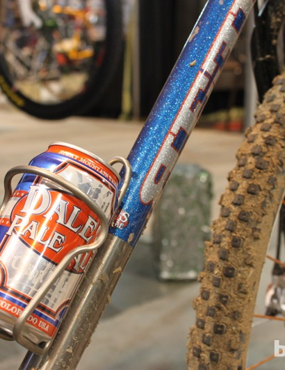 Better hydration for a bike show than a gravel road ride