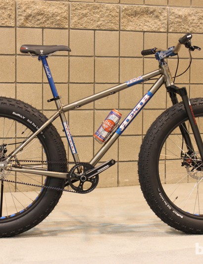 The REEBdonkadonk is one of many fat bikes on display this year