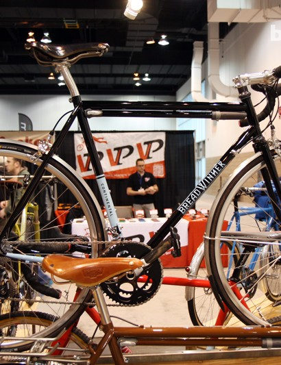 Breadwinner builds the Continental with Columbus steel tubing and clearance for up to 30mm-wide tires