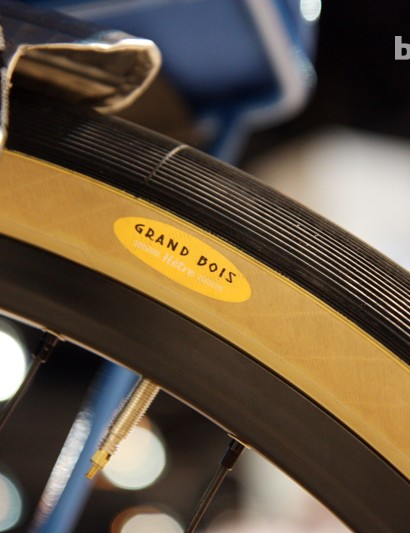 Cushy 650b tires on the Breadwinner Arbor Lodge