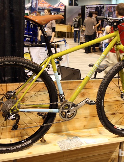 Breadwinner's 29er steel hardtail is called the JB Racer