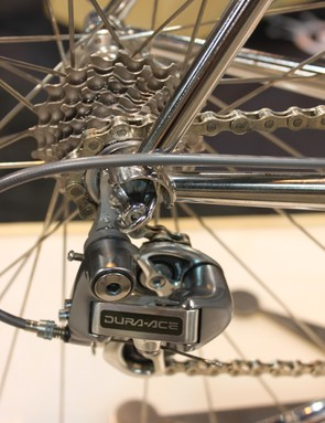 …but with five fewer cogs than the current Dura-Ace group