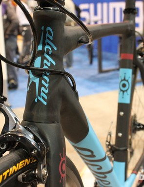 We can't help but think this top tube would look great the Alchemy's next 'cross frame