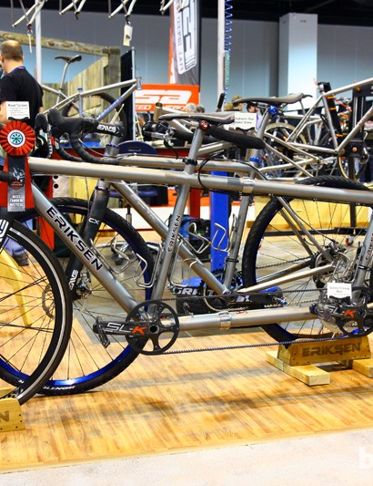 Kent Eriksen Cycles won the NAHBS award last year for