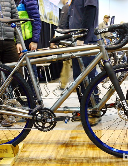 Kent Eriksen Cycles showed off this beautiful disc brake-equipped 'cross bike at this year's NAHBS