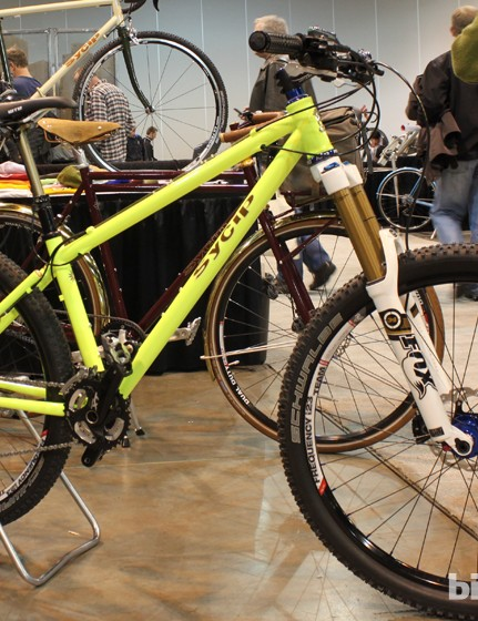 More customers are asking Sycip for aggressive, all-mountain hardtails