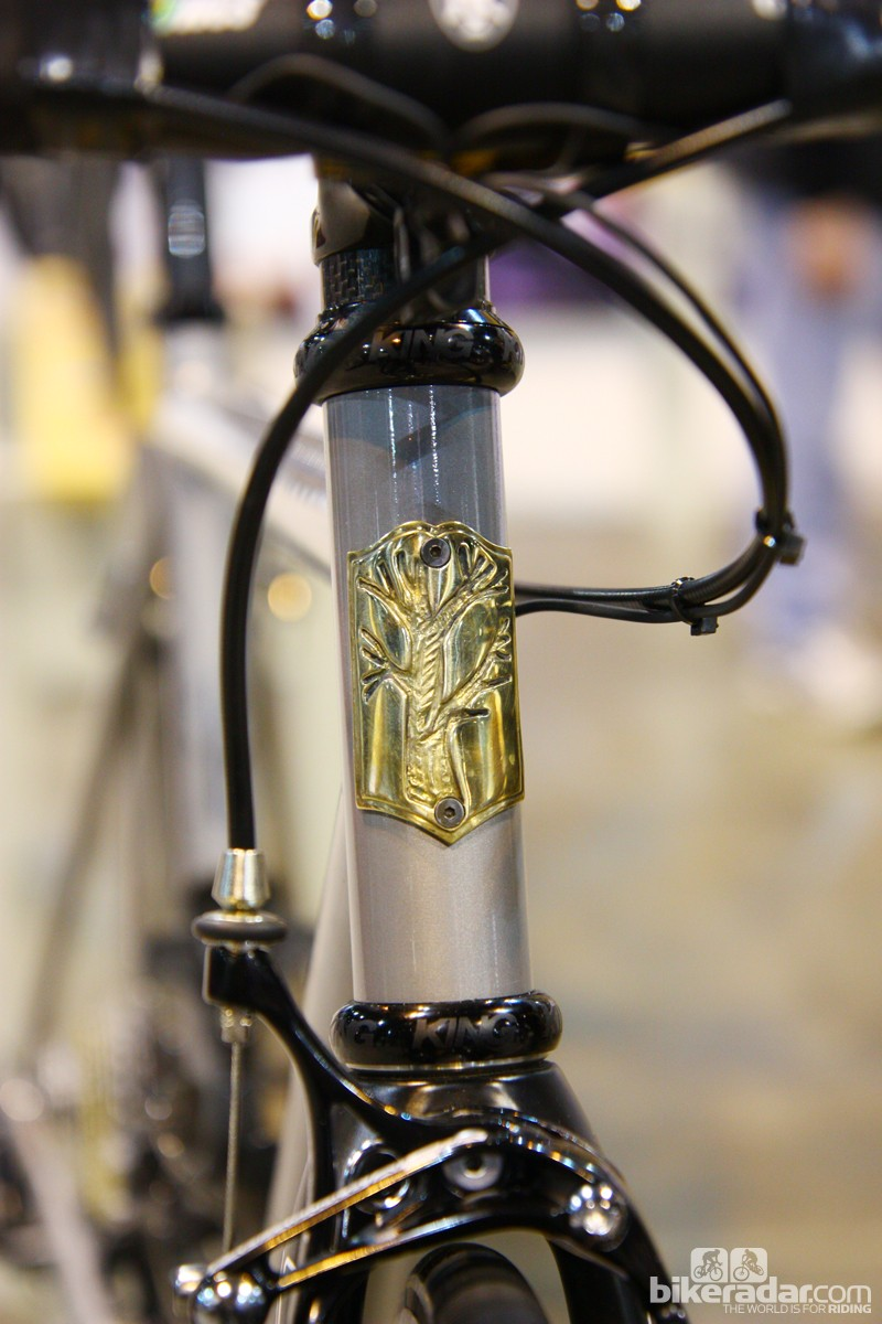 Mosaic's eye-catching head tube badge
