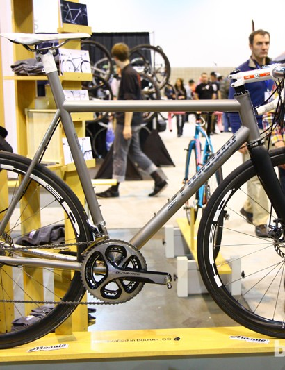 Not surprisingly, there were a lot of disc brake-equipped road bikes at this year's NAHBS