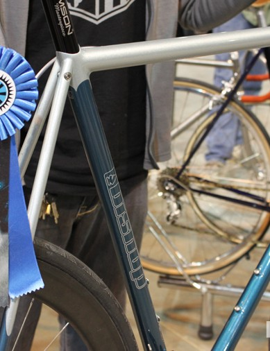This is Bishop's fifth NAHBS award, his first for Best Road Bike