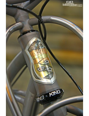 Black Sheep frames frequently feature unique head tube badges