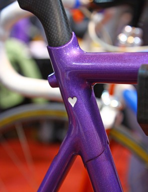 Hearts are Rich Gängl's trademark. This one distracts from the flawless fillet brazing on either side of it, though