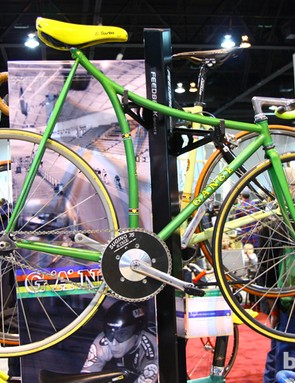 Rich Gängl was inspired to build this bike for himself after seeing Francesco Moser break Eddy Merckx's hour record in 1984